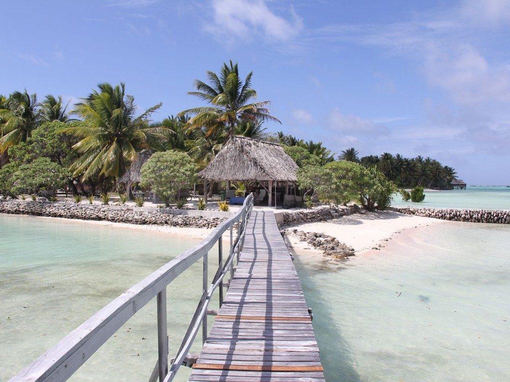 Seashore at Tabon te Kekee