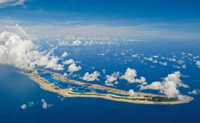 Line Island Aerial View